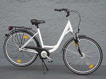 Bicicleta de paseo para mujer, ruedas de 26
