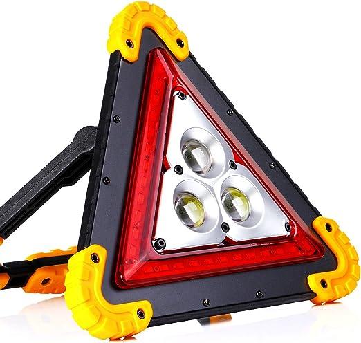 Batteria al litio integrata 4 modalit/à Regolabili for riparazione auto Coquimbo 30W Lampada LED Esterni 1000LM LED Lampada da lavoro Ricaricabile Impermeabile campeggio escursionismo e emergenza