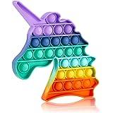 Pop Fidget Toys Brinquedo de apertar com bolhas para crianças e adultos, brinquedo de estresse para alívio de estresse e ansi