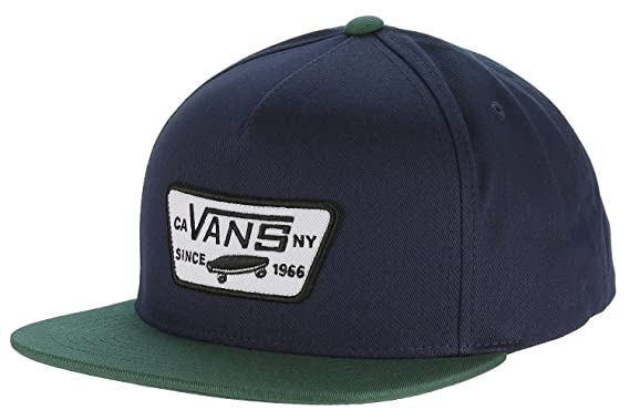 Vans Off The Wall - Gorra de béisbol - para Hombre Azul Black Iris ...