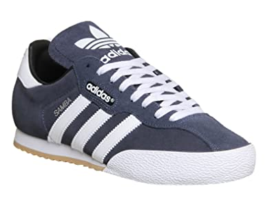 f18ee4351f9 adidas Samba Suede Mens Trainers 7 MARINE WHT  Amazon.co.uk  Shoes   Bags