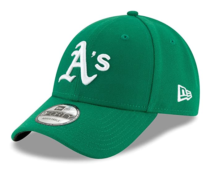 buy online e0870 e9d8f New Era Oakland Athletics MLB 9Forty The League Adjustable Hat - Kelly Green