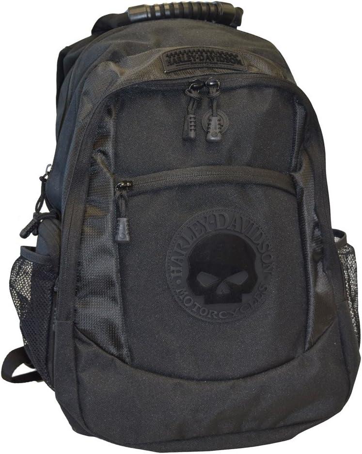 Harley-Davidson Men's Willie G. Skull Classic Backpack - Black BP1962S-Black