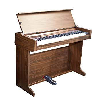 Chase Cdp 160br Digital Piano Desk In Brown Amazon Co Uk Musical