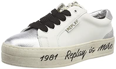 low priced be904 bcd92 Replay Damen First Sneaker,: Amazon.de: Schuhe & Handtaschen