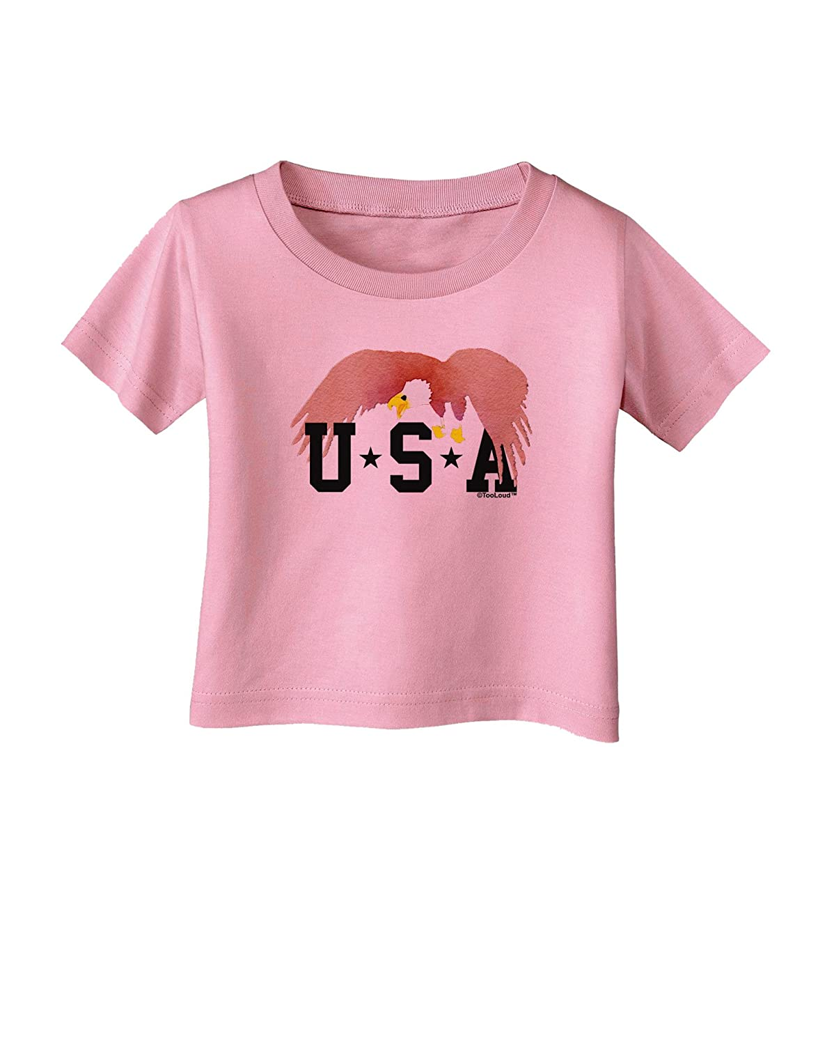 TooLoud Bald Eagle USA Infant T-Shirt
