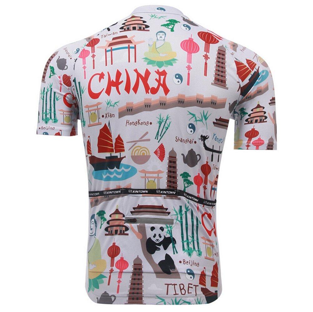 Amazon.com   Xinzechen Cycling Jersey Polyester Short Sleeve   Sports    Outdoors 117517dfb