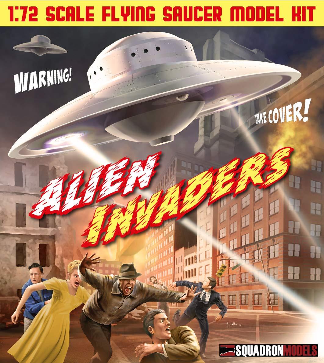 Squadron SQM0003 Models 1/72 Alien Invader