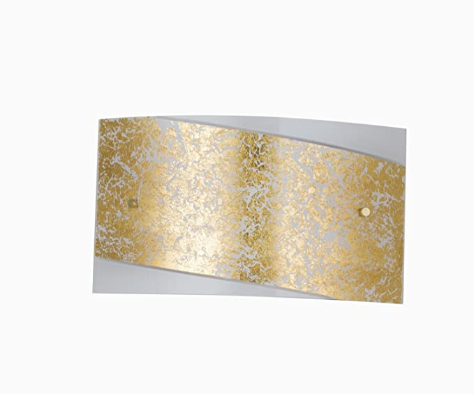 Artistico lampada parete bianco oro vintage e fino watt