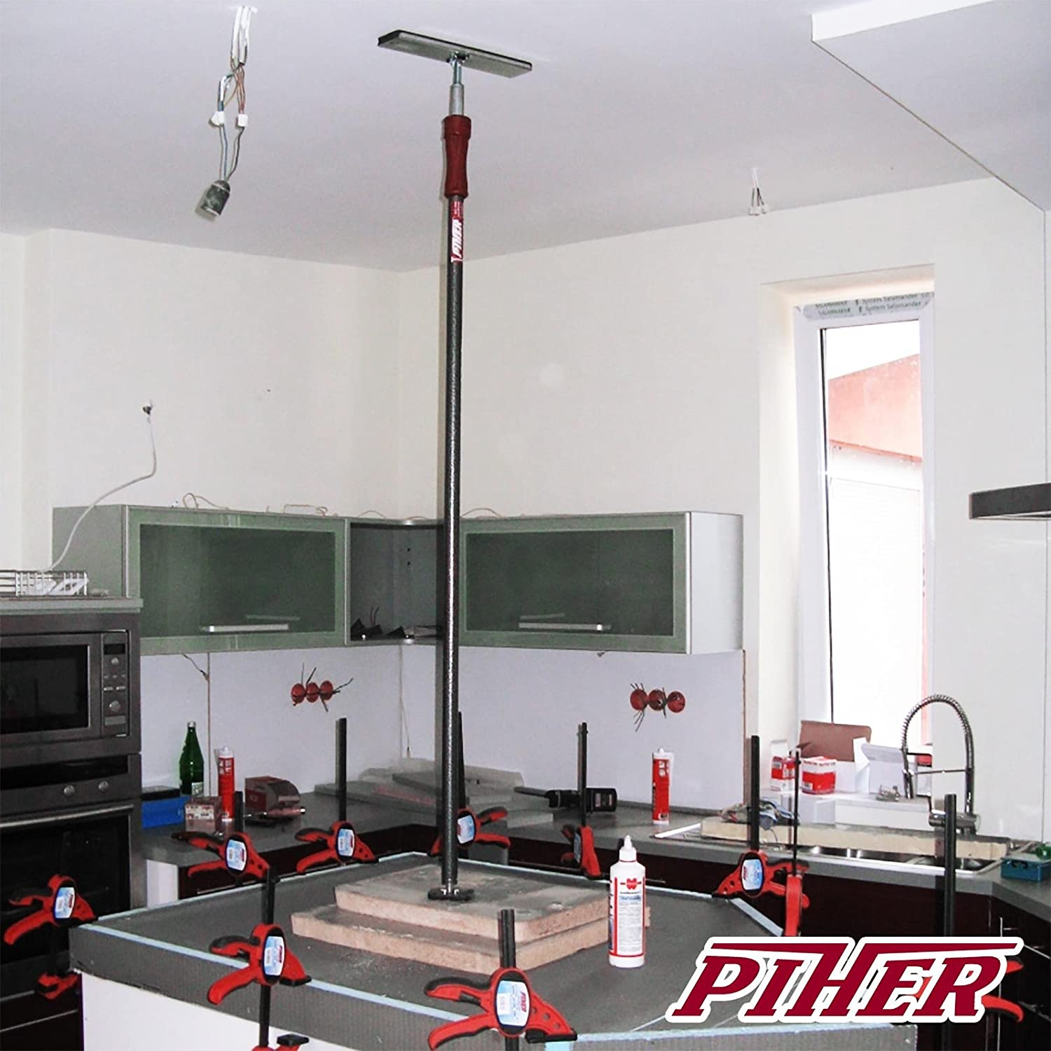 PIHER/ /Skating Stretchy Wide Press 6/x 8-inch for Stanchions 34036/ /Piher