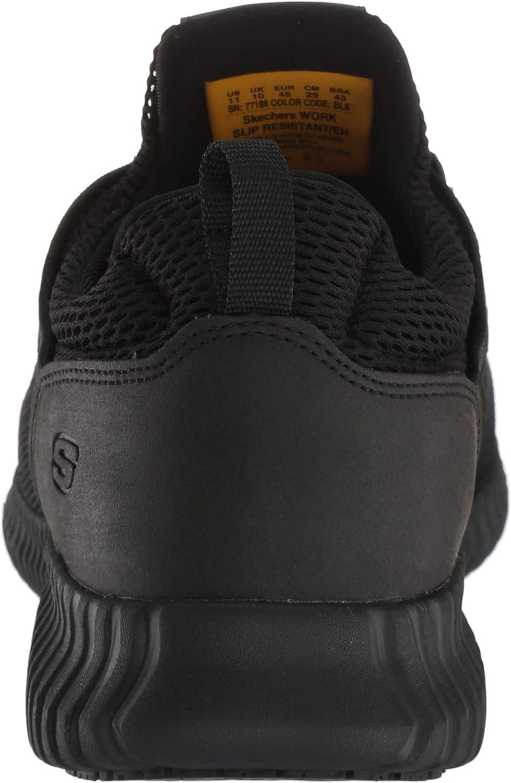 Skechers Work Cessnock 77188 Men's Oxford: : Schuhe