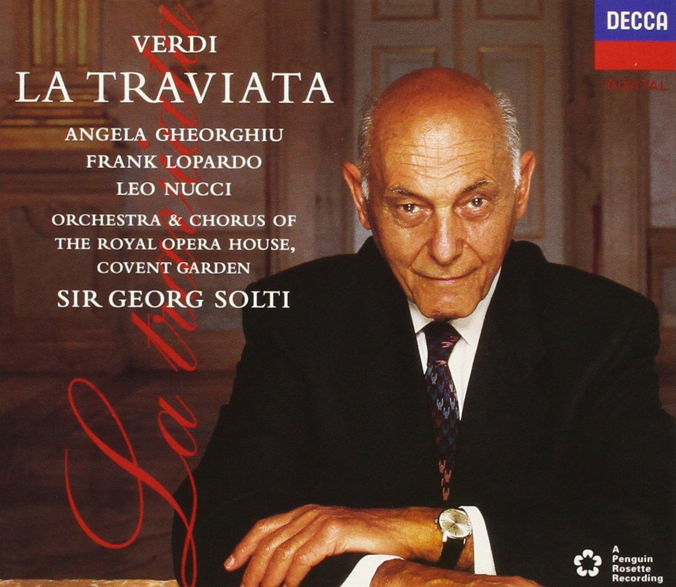 Verdi: La Traviata by GHEORGHIU/SOLTI