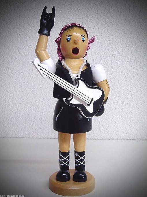 Unbekannt Muñeco de Incienso Incienso Figura Rocker Novia Metal 20 ...