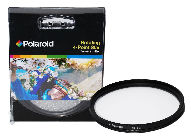 Polaroid Optics 52mm Rotating 4 Point Star Filter