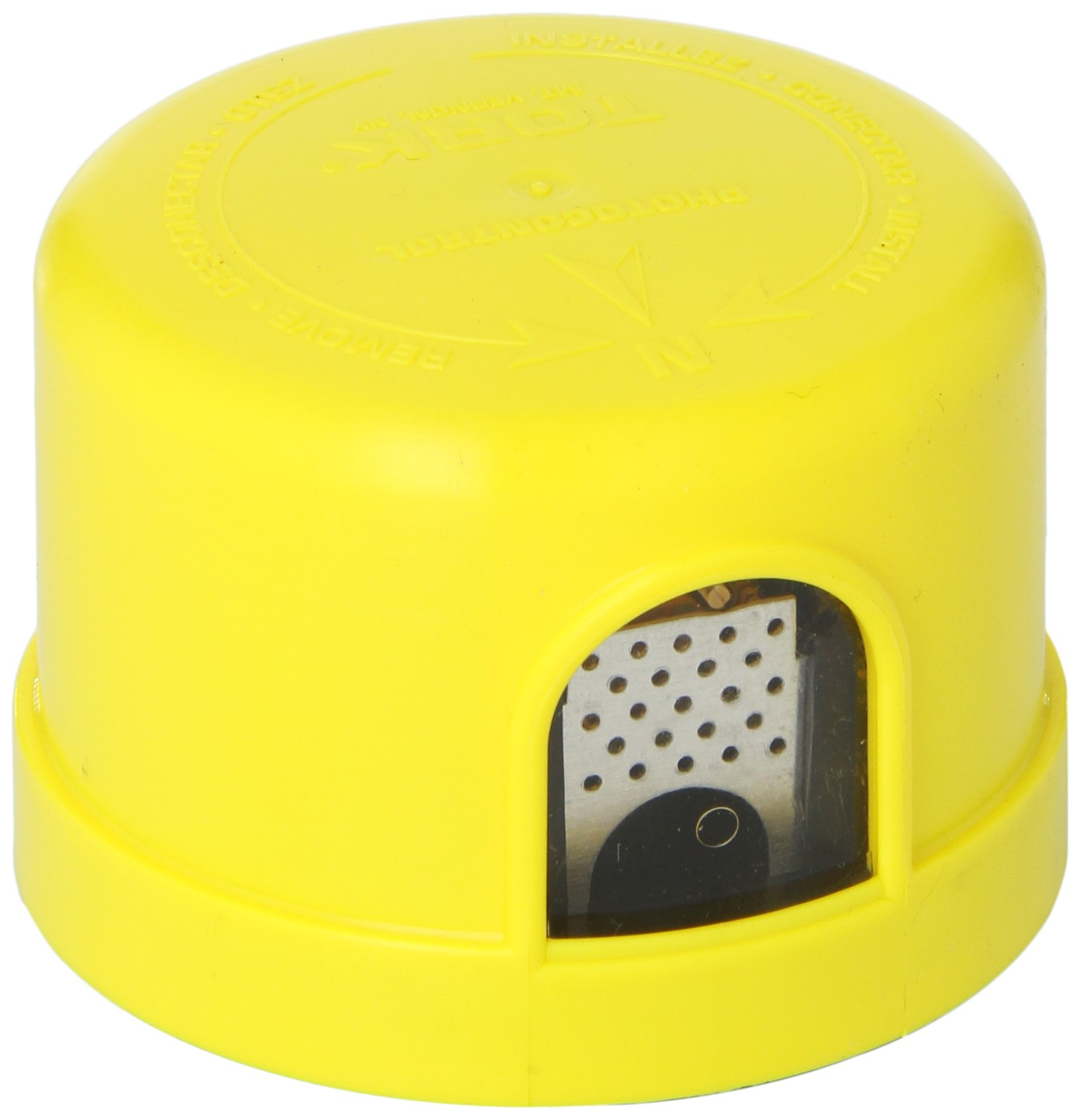 Quick Response Turn-Lock Mounting Photocontrol, 1800VA Ballast, 1000W Power, 400-550VAC Voltage, Yellow