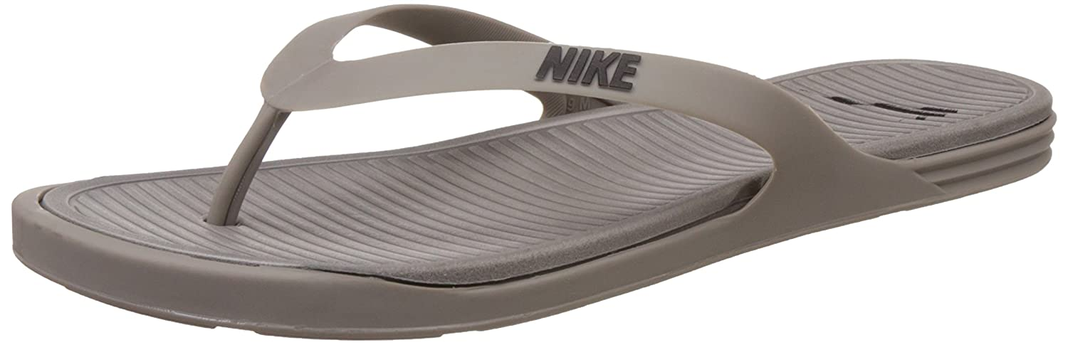 Nike Men's Matira Thong Iron and Black Flip-Flops and House Slippers -4.5  UK/India (37.5 EU)(5 US): Buy Online at Low Prices in India - Amazon.in