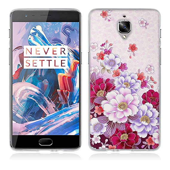 new arrival 378aa d1a94 Amazon.com: OnePlus One Case ,OnePlus Cute 3D Diamond Cover,FUBAODA ...