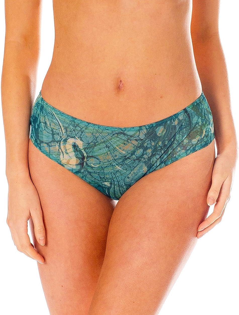 Kiniki Santorini Tan Through Sonnendurchl/ässige High Waisted Bikinihose Damen Bademode