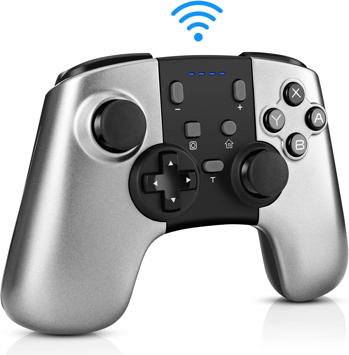 YHT Wireless Pro Controller for Nintendo Switch/Switch Lite,Remote Switch Pro Controller Gamepad for Nintendo Switch Console with 6-Axis Gyro Motion Control,Turbo Function and 3 Level Vibrations