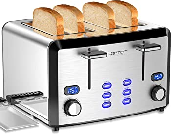 Lofter Mirror Stainless Steel Best Rated Prime 4 Slice Toaster