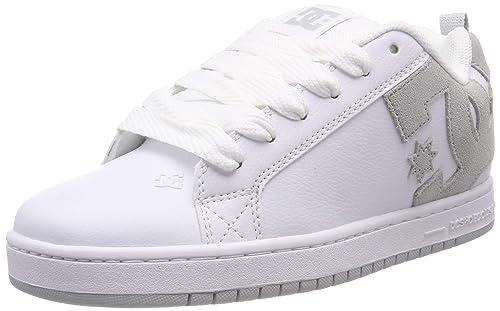 fd8386ccd0d25 DC Shoes Mens Court Graffik Leather Trainers