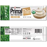 Julian Bakery Primal Thin Protein Bar | Sweet Cream | Organic Grass-Fed Whey | Gluten-Free | 20g Protein | 1 Net Carb…