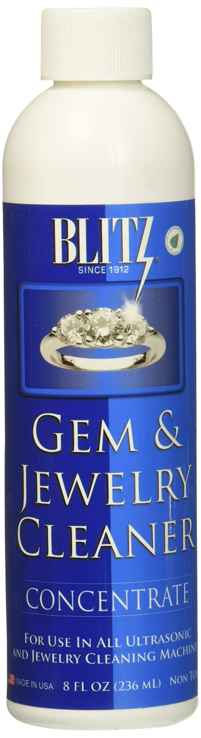 Blitz Gem & Jewelry Cleaner Concentrate (8 Oz) (6-Pack)