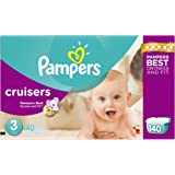Pampers Size 3 Cruisers Diapers, 140 Count
