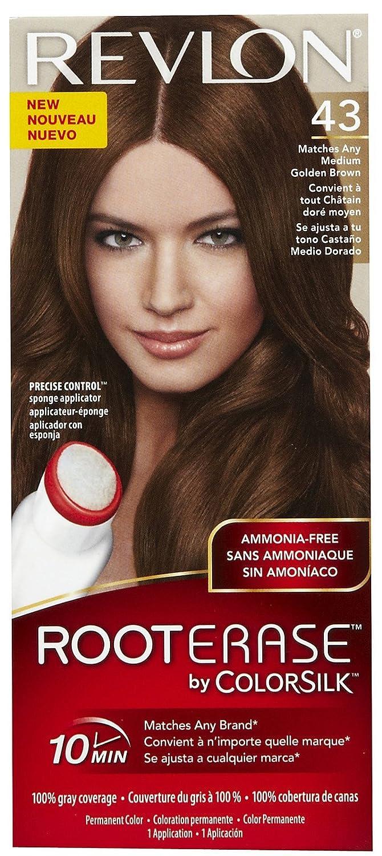 Amazon Revlon Root Erase By Colorsilk Ammonia Free Permanent