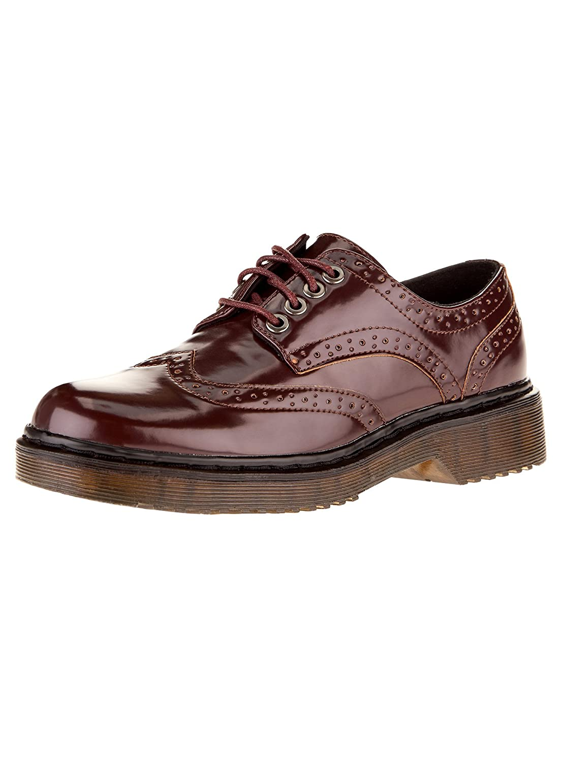 oodji Collection Women's Faux Leather Oxford Shoes RIFICZECH s.r.o. 92OOH001W