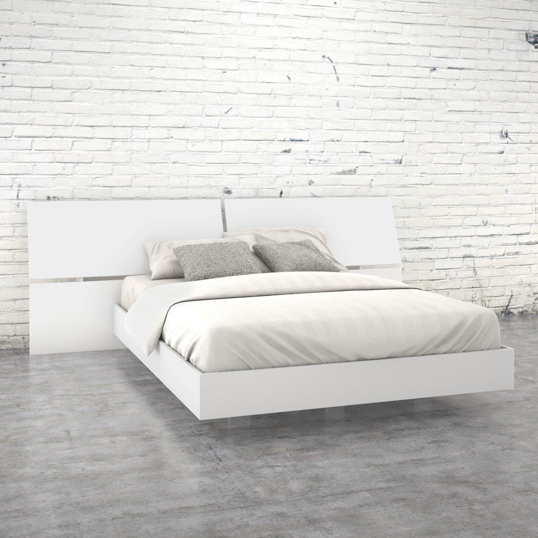 nexera furniture website. Nexera 346003 Acapella Queen Size Platform Bed, White: Amazon.ca: Home \u0026 Kitchen Furniture Website