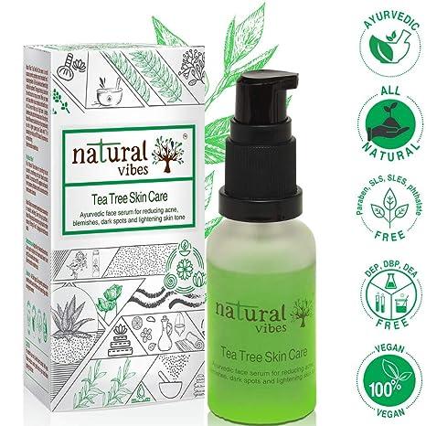 d26cc80bd8 Buy Natural Vibes Ayurvedic Tea Tree Skin Repair Serum, 30ml Online ...