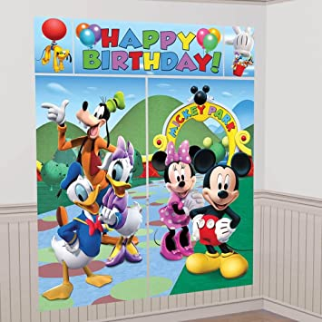 decoración cumpleaños Mickey: Amazon.es: Juguetes y juegos