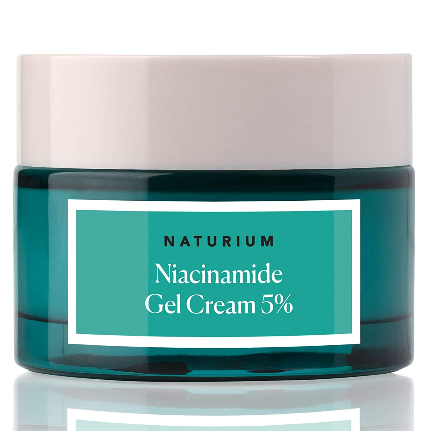 Niacinamide Gel Cream 5% - 1.7oz, Vitamin B3, Minimize Pores, Deep Hydration, Anti Aging Facial Cream with Niacinamide and Coconut by Naturium