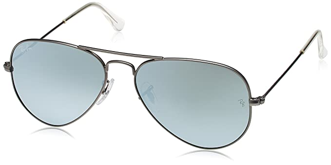 Image Unavailable. Image not available for. Colour  Ray-Ban Aviator  Sunglasses (Matte Gunmetal) ... af46c1b87e6