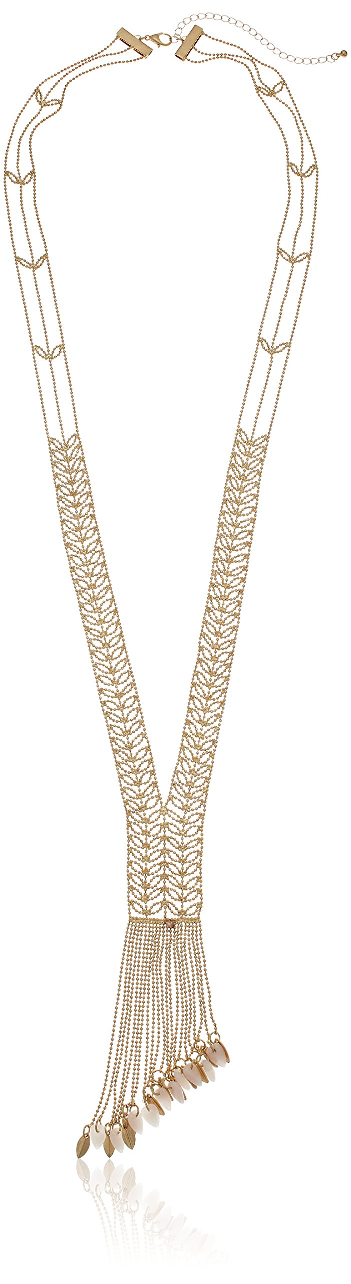 Danielle Nicole Ivy Y-Shaped Necklace, 34'' + 4'' Extender