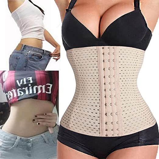 f0db9749888 Image Unavailable. Image not available for. Color  FIRSTLIKE Waist Training  Shapewear ...
