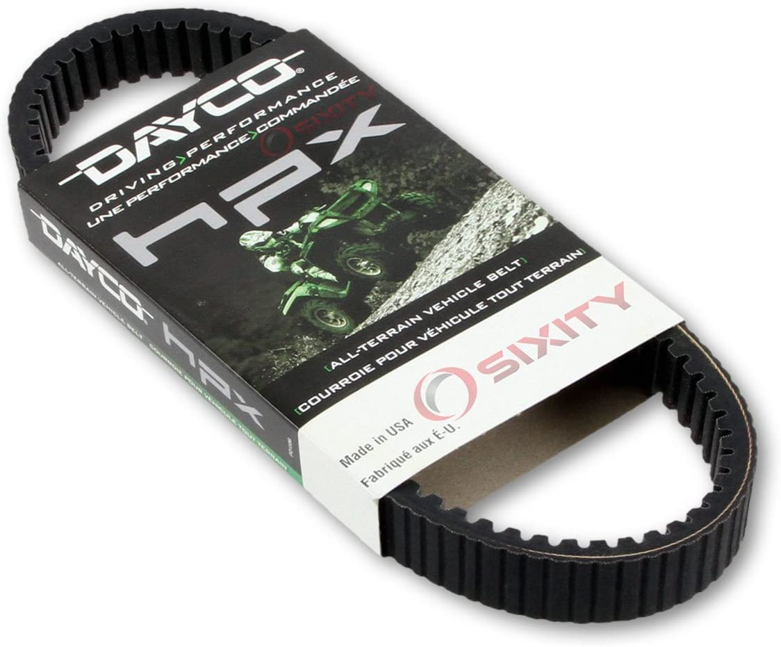 Dayco HPX2237 Performance Drive Belt 2005-2006 Polaris Sportsman 800 EFI