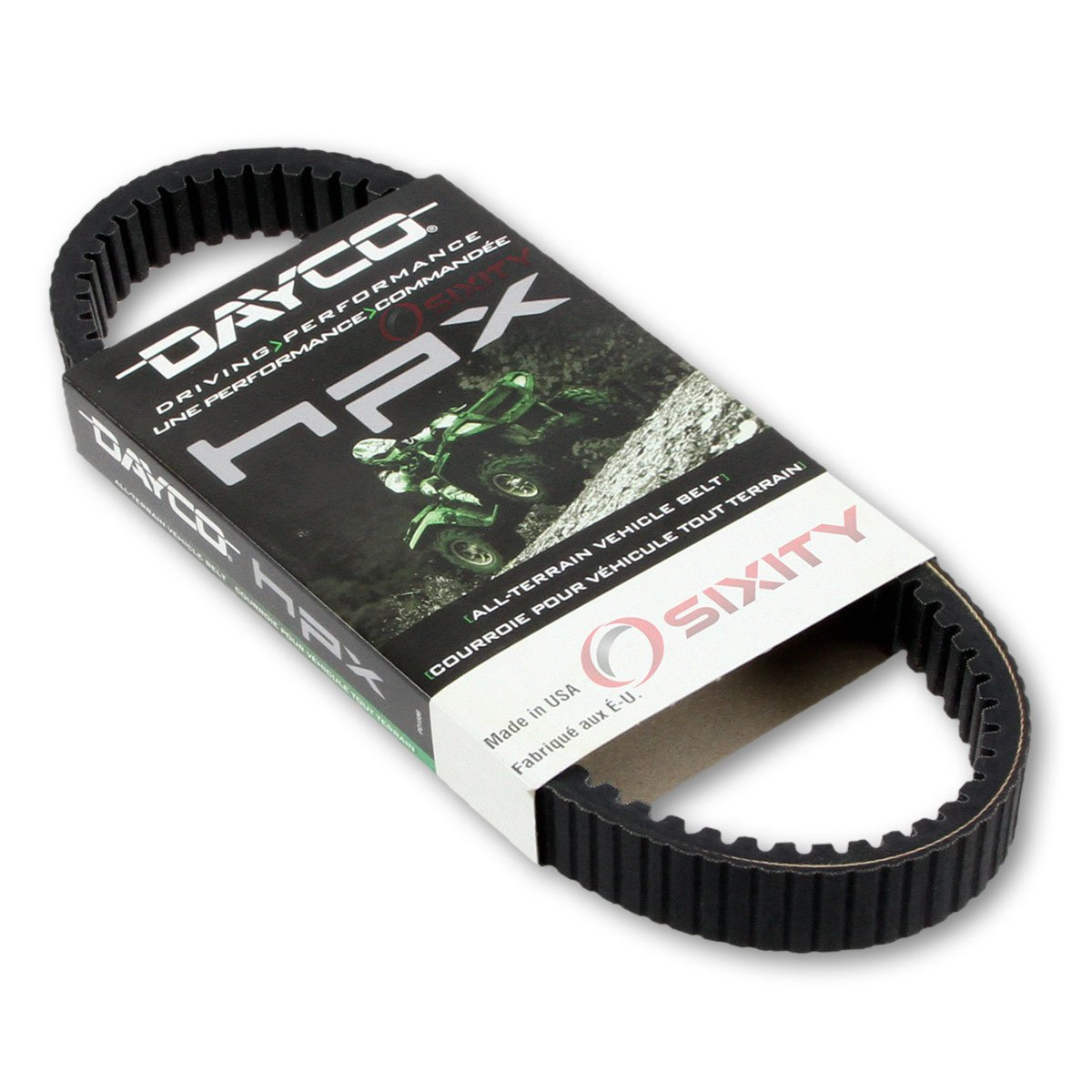 2005-2006 for Polaris Sportsman 800 EFI Drive Belt Dayco HPX ATV OEM Upgrade Replacement Transmission Belts