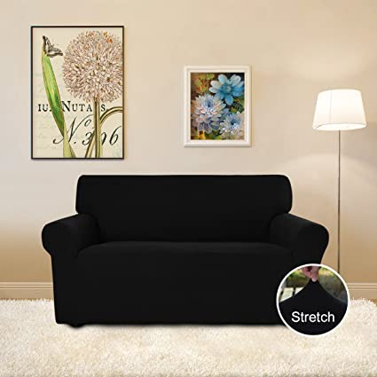 Easy Going Stretch Slipcovers, Sofa Covers, Furniture Protector With  Elastic Bottom, Anti