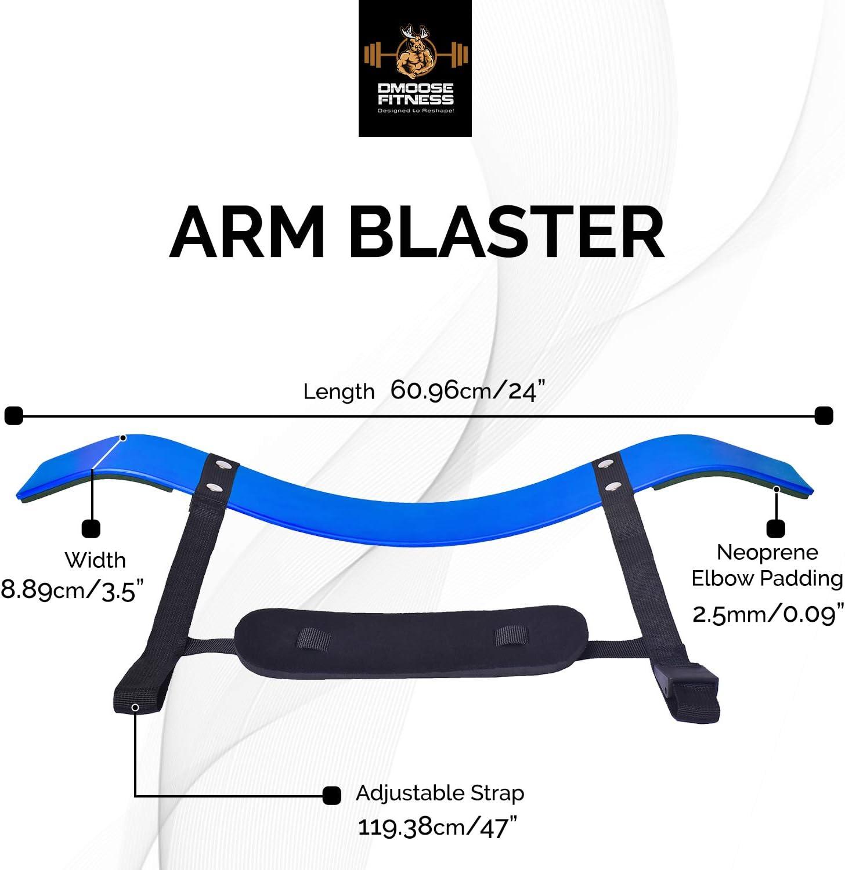Brazo Curl Blaster por dmoose Fitness – de grosor calibre remaches ...