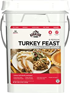 Augason Farms Turkey Feast 8 Person Emergency Food Supply