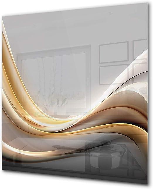 Kitchen Splashback 60x49 Tempered Glass Abstract Art CUSTOM-MADE PRODUCT