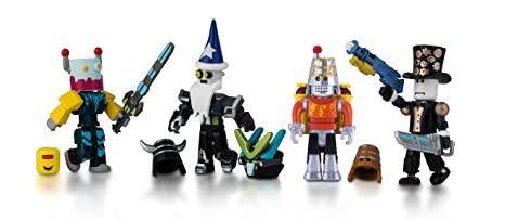 Amazoncom Roblox Robot Riot Mix Match Set Toys Games