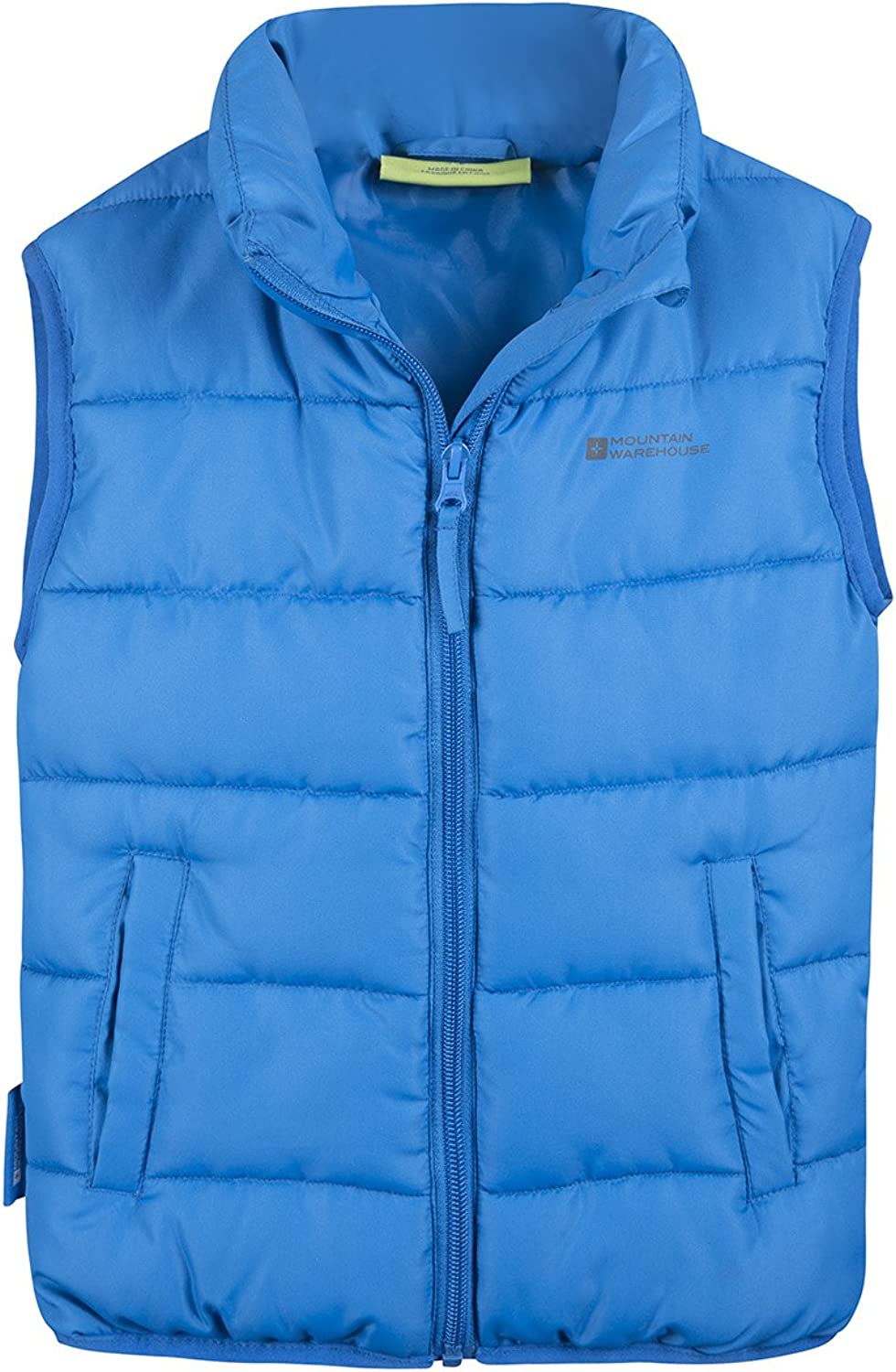 Mountain Warehouse Mens Down Padded Vest Gilet with Water-Resistant Fabric