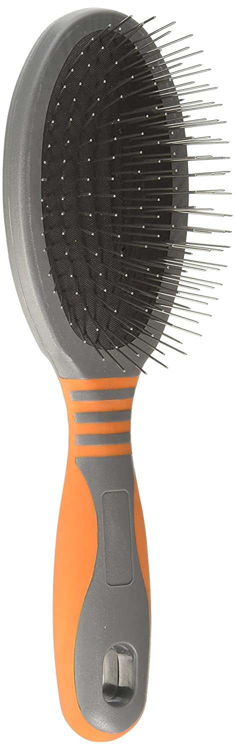 Large GoGo Pet Products Deluxe Pin Pet Grooming Brush, Large