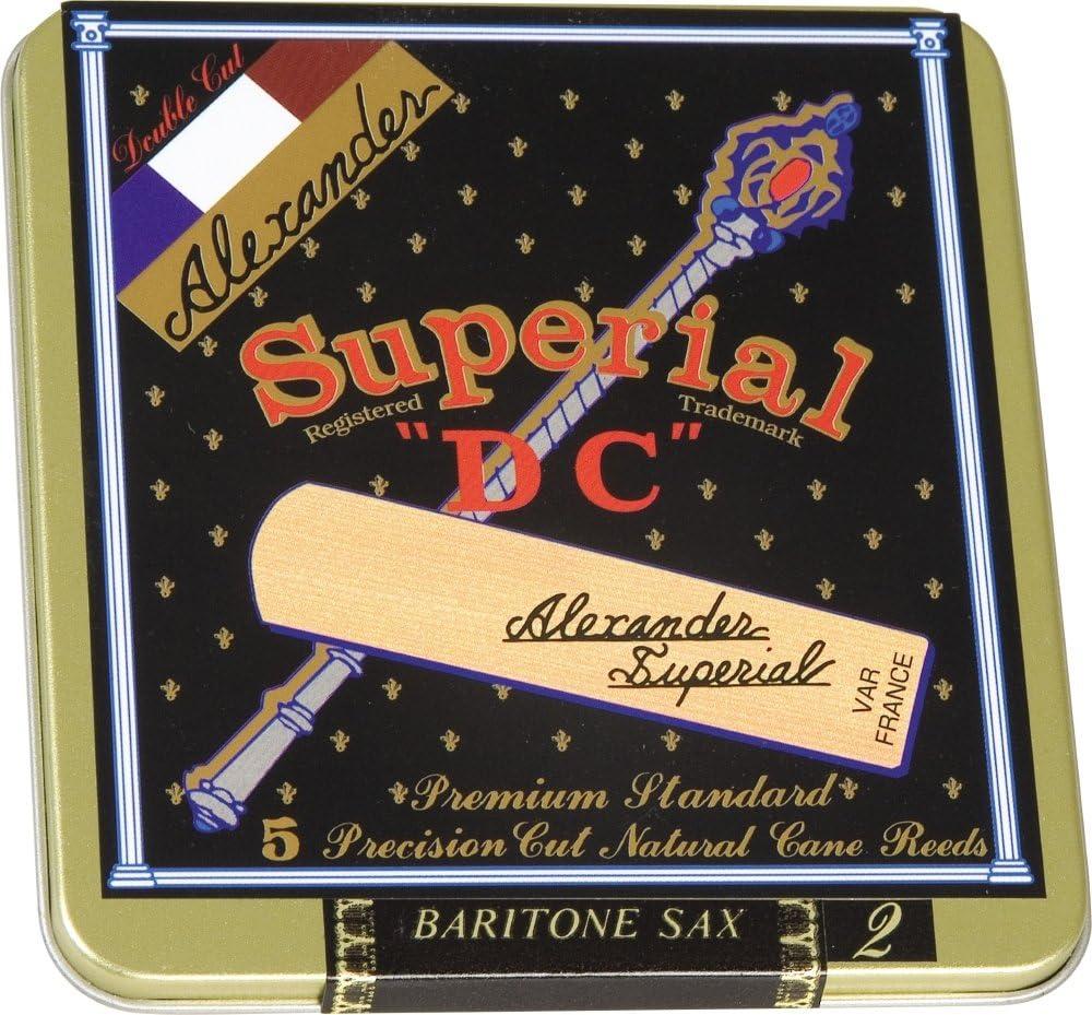 Alexander Reeds Superial Baritone Saxophone Reeds Strength 2.5