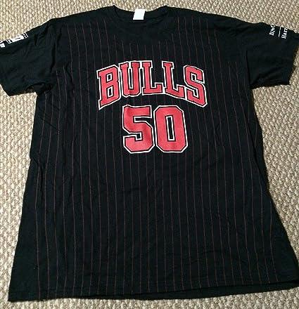 MICHAEL JORDAN T Shirt Chicago Bulls #23 NBA T-Shirt GILDAN REPRINT