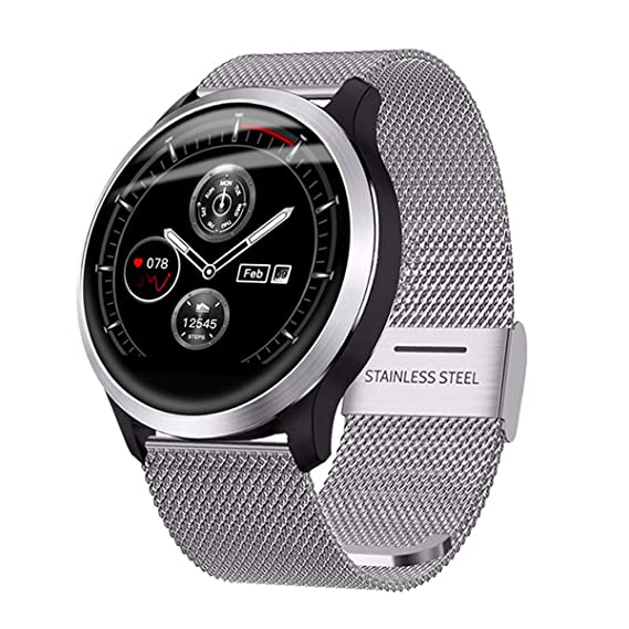1.22 Inch Smart Watch Men IP68 Impermeable Heart Rate Blood ...