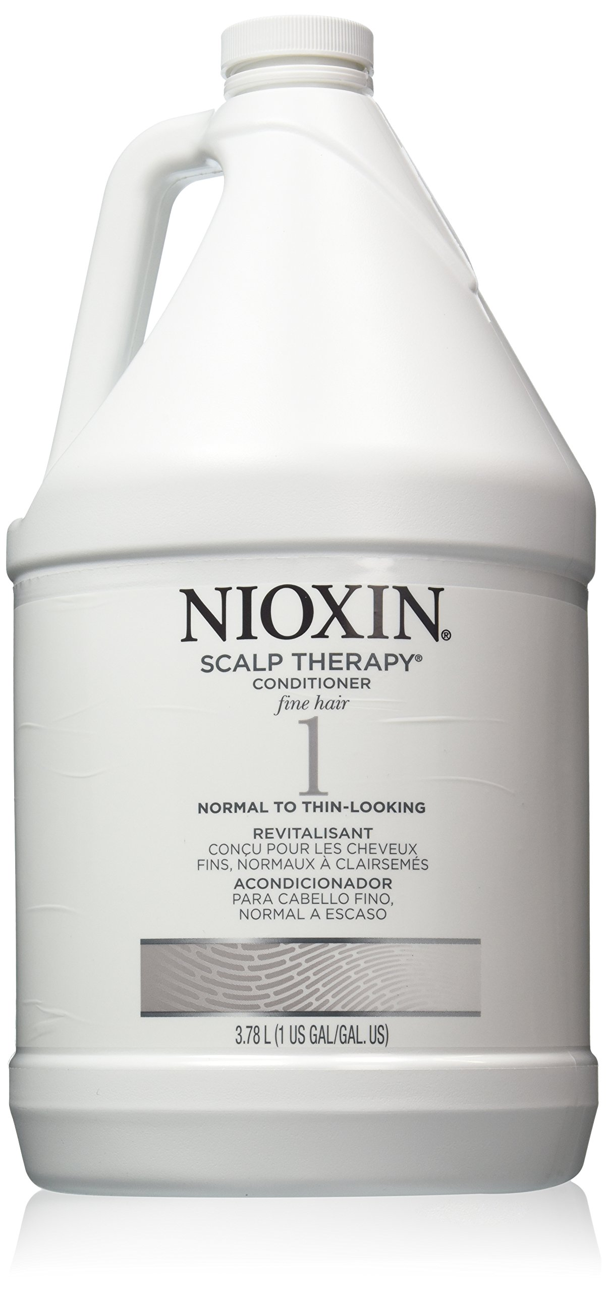 Nioxin System 1 Scalp Therapy (Conditioner) for Normal To Thin-Looking Fine Hair, 128 Ounce